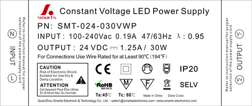 non-dimmable led power supply