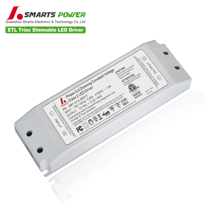60w triac dimmable led driver