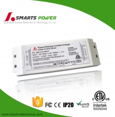 12v 60w ETL FCC listed Triac Dimmable LED Driver
