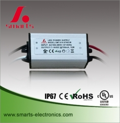 waterproof 700ma 10w led driver
