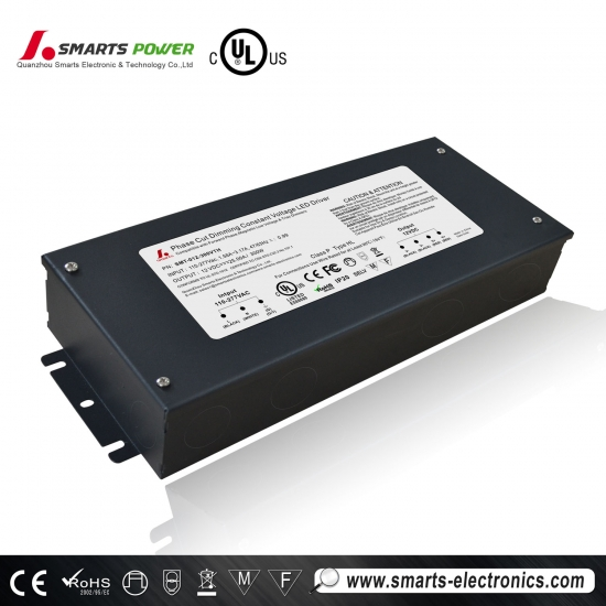 ul listado triac regulable 90-305vac conductor led