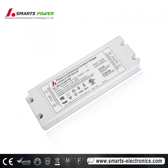 ul / cul 12vdc 60w triac dimmable led driver