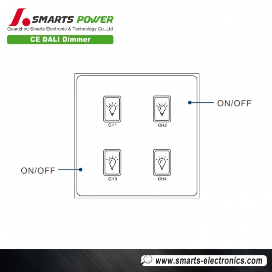 ce rohs listed dali dimmer led driver
