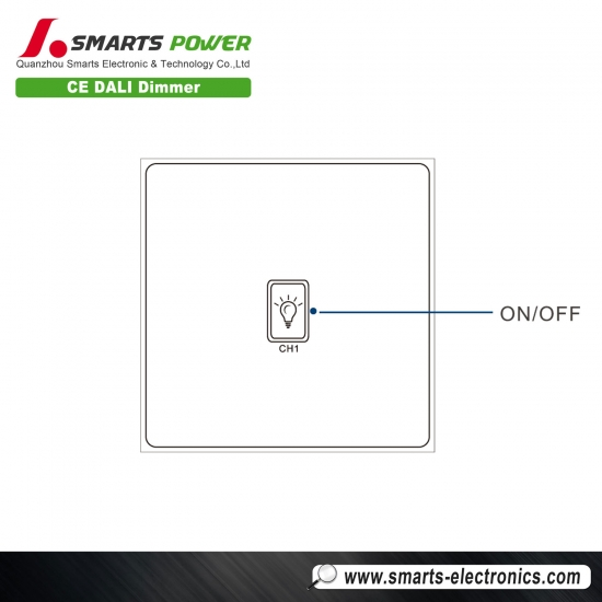 ce rohs listed dali dimmer switch