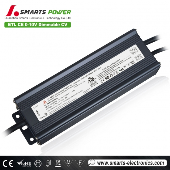 12v 100w 0-10v controlador led impermeable regulable
