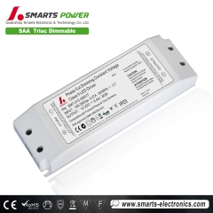 60w controlador led de voltaje constante, 60 vatios regulable driver led, driver led regulable