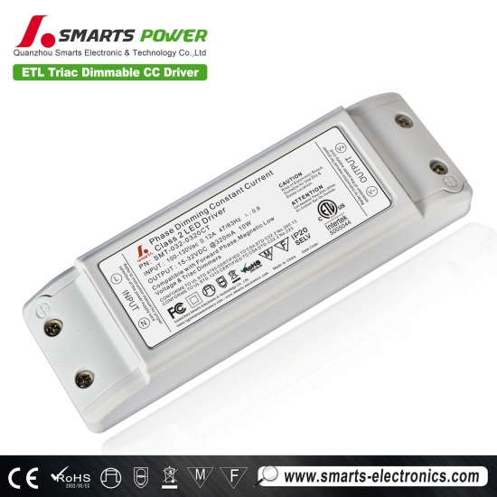 Conductor led regulable triac 320ma 10w