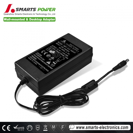 Adaptador de 12v 60w con transformador led regulable, regulable, tubo de luz led, controlador led de conmutación