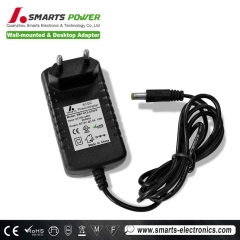 mejor Adaptador de corriente de 12v 24v 12w us / uk / eu