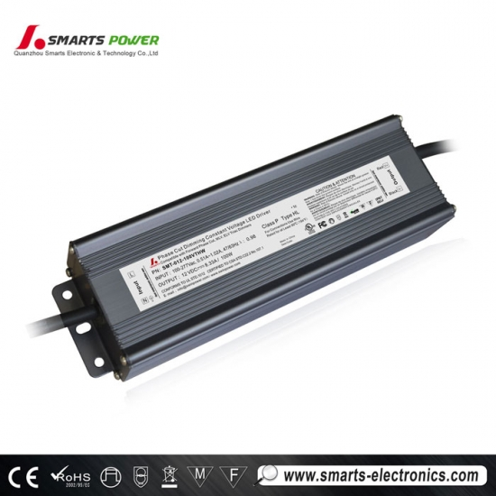 Fuente de alimentación led regulable ul triac para tira de led