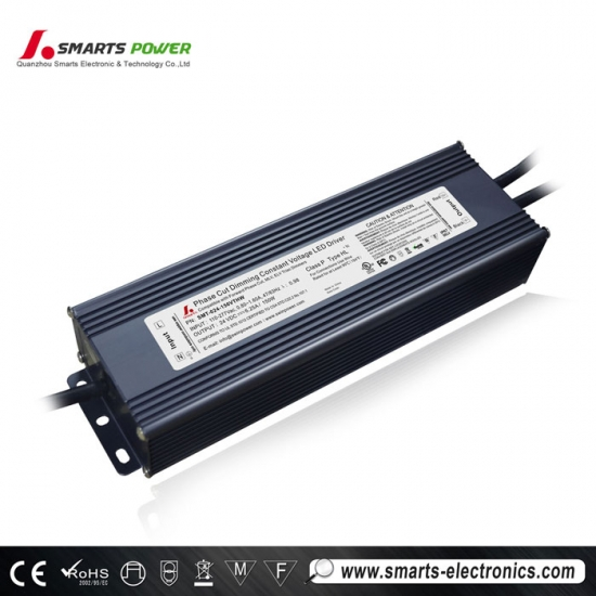 ul csa triac dimmable led driver para tira de luz led