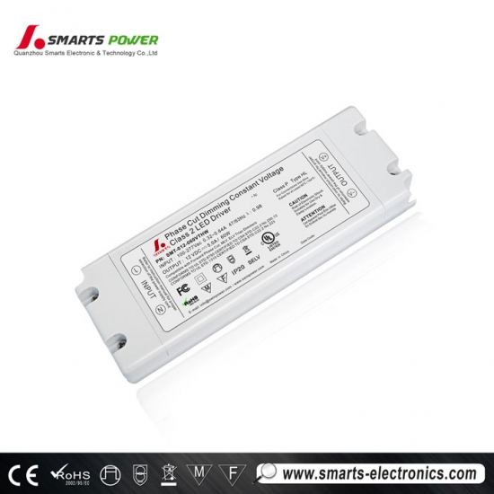 Controlador led regulable triac ul / cul 12vdc 60w