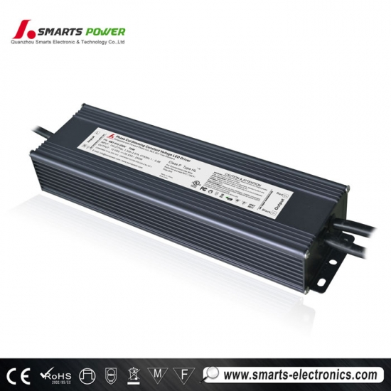 Controlador led triac regulable de voltaje constante 12v 250w
