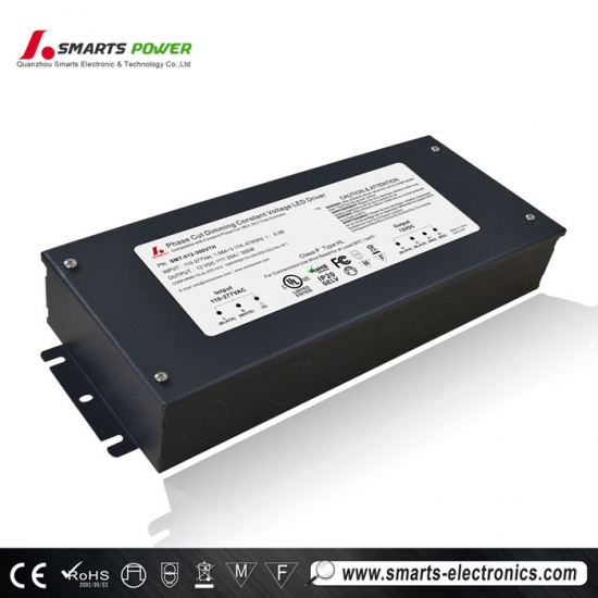Controlador led de 90-305vac triac regulable ul listado