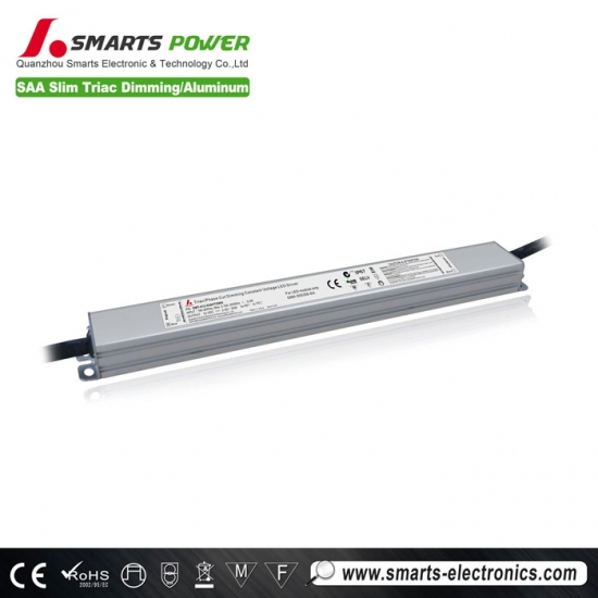 SAA listed IP67 triac dimmable led driver