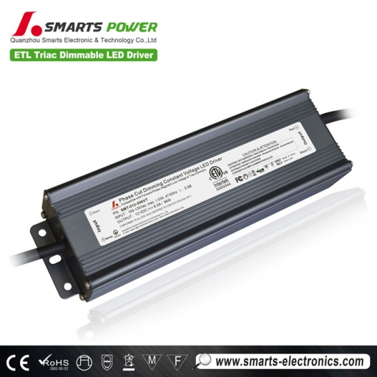 24v  regulable transformador led, regulable 12v fuente de alimentación led