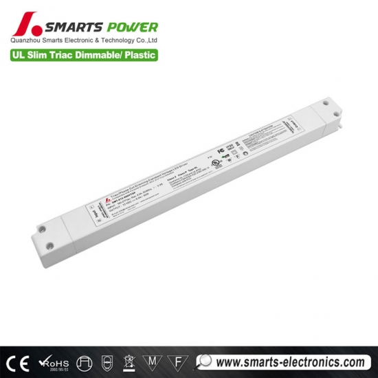 12v 60w slim type led driver with triac dimming