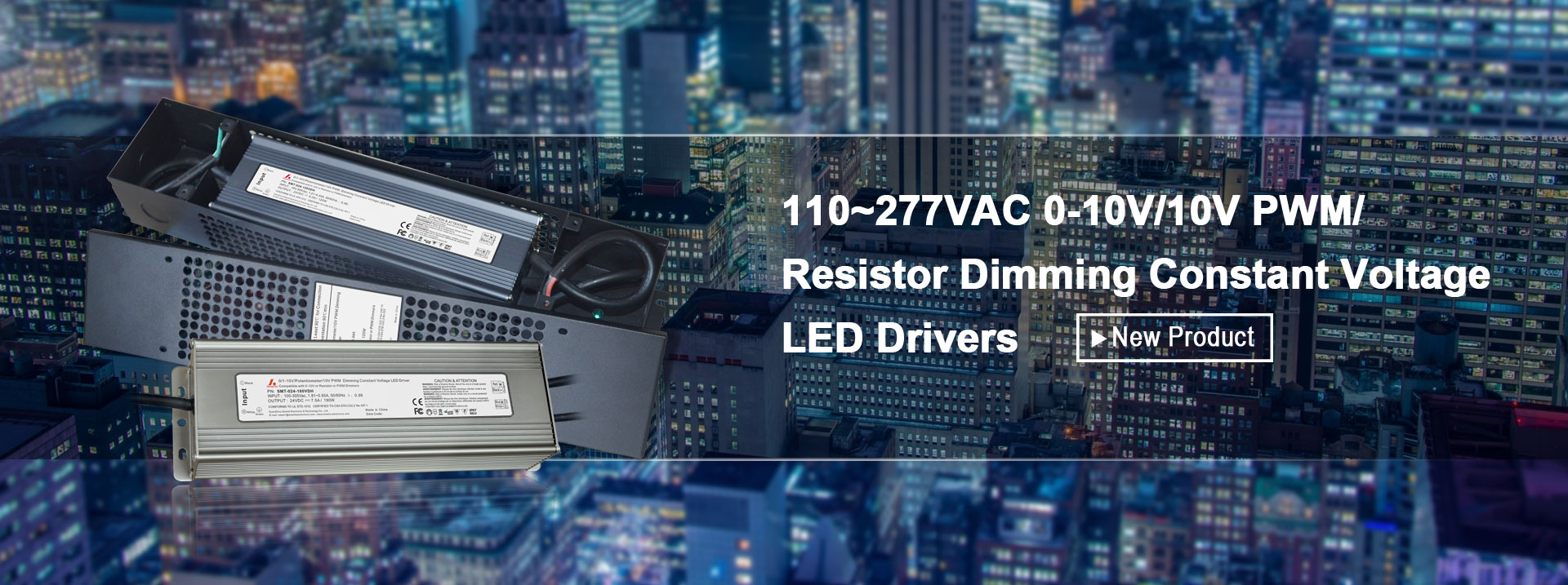 Resistor Dimming Constant Voltage LED Driver